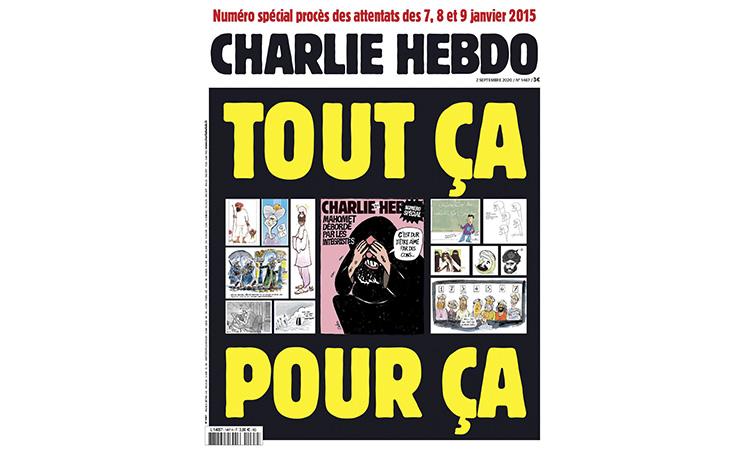 Charlie Hebdo publica de nou les caricatures de Mahoma
