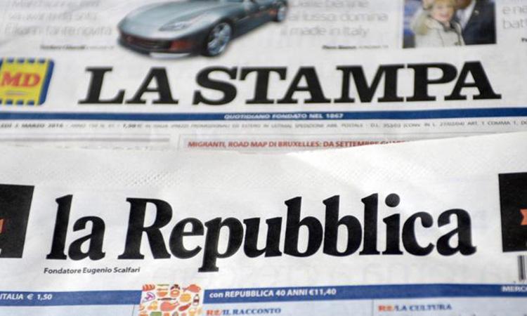 La família Agnelli compra l'editora de La Repubblica i La Stampa