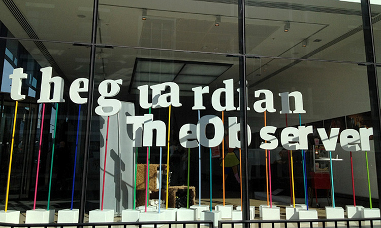 The Guardian acomiadarà 180 treballadors