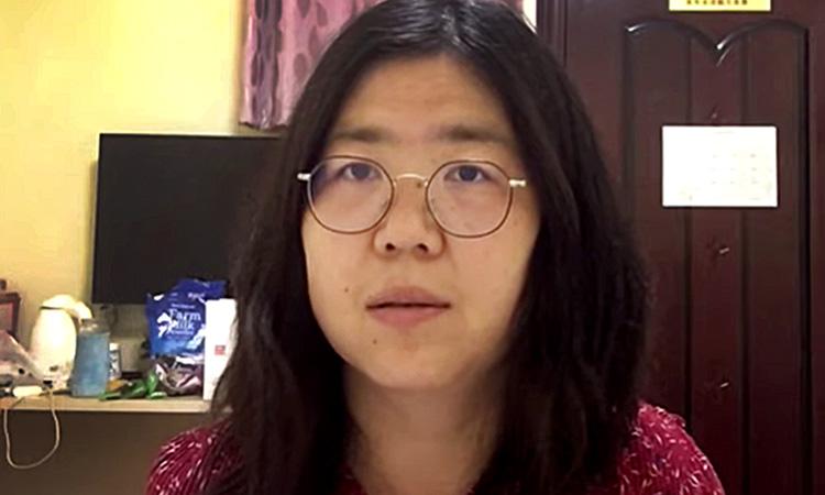 Condemnen a 4 anys Zhang Zhan per difondre la gestió del coronavirus a Wuhan