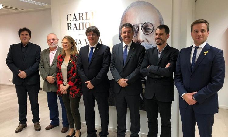 Brussel·les inaugura l'exposició itinerant 'Carles Rahola. Una vida republicana'