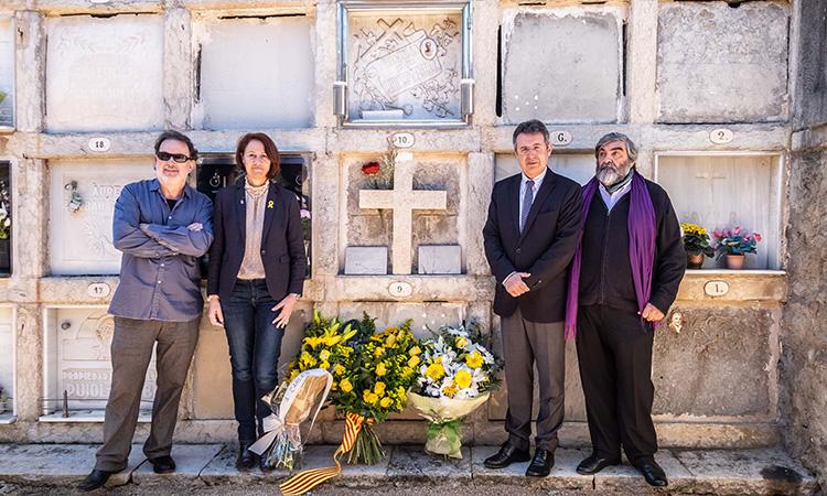 Homenatge a Carles Rahola en el 80è aniversari del seu afusellament