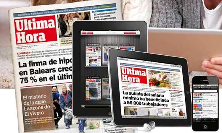 Última Hora denuncia el digital La Última Hora per apropiació de marca