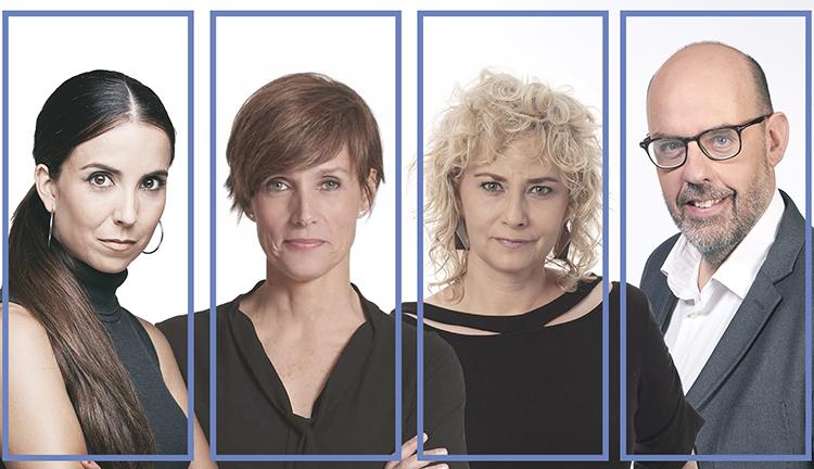 Laura Rosel, Raquel Sans, Mònica Terribas i Jordi Basté presentaran 'La Marató'