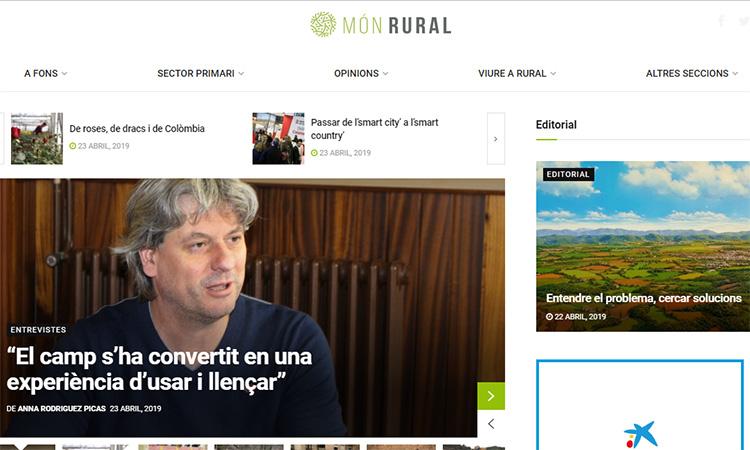 Neix el digital Món Rural