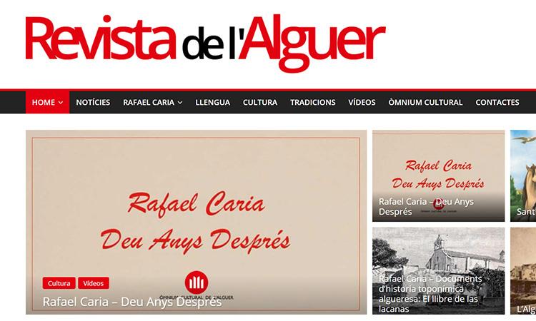 La Revista de l'Alguer estrena web
