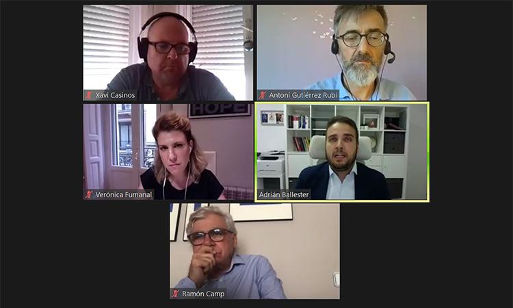 Comunicació, política i pandèmia, ingredients d'una xerrada virtual de la Diputació d'Alacant