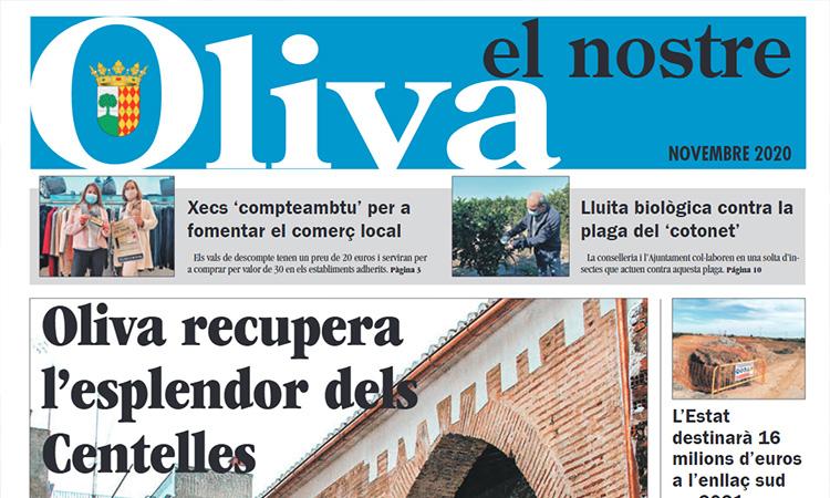 La nova capçalera gratuïta El Nostre Oliva, al carrer
