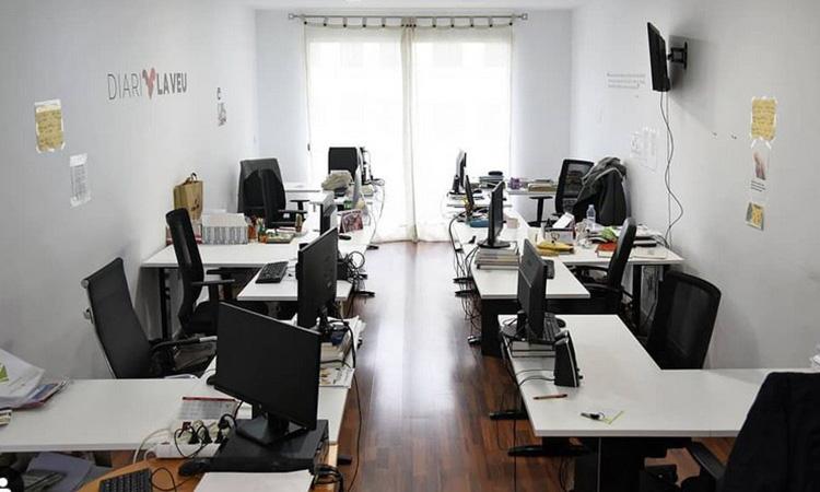 La Seguretat Social revoca l'alta d'ofici als col·laboradors del Diari La Veu