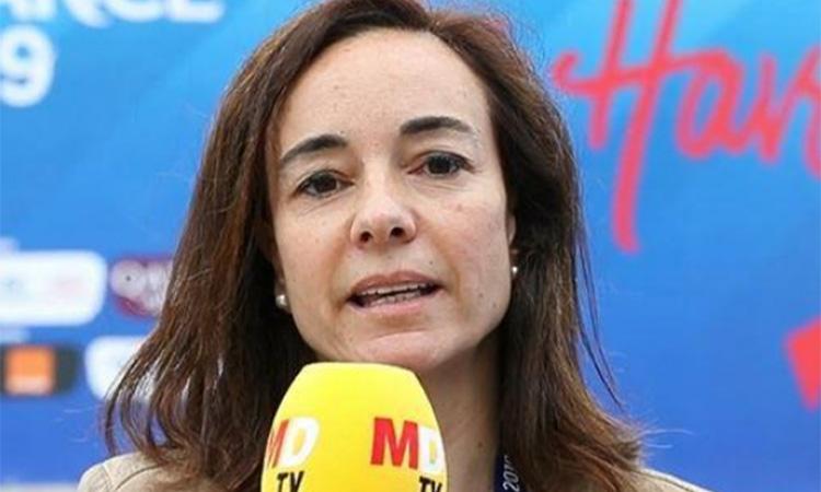"""Begoña Villarrubia: """"Si el futbol femení genera interès, la responsabilitat dels mitjans és donar-hi resposta"""""""