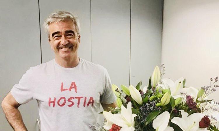 Carles Francino torna a 'La ventana' després de 47 dies de baixa per Covid