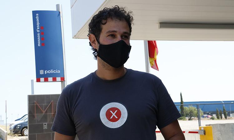 Els Mossos acusen el periodista Carles Heredia d'atemptat contra l'autoritat i lesions