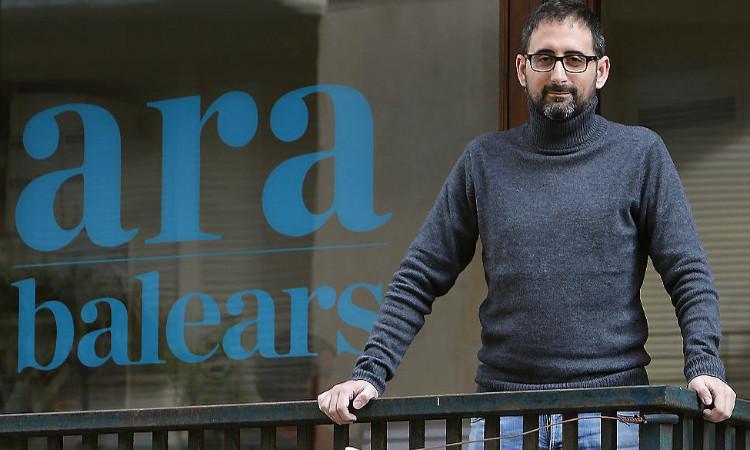 """Enric Borràs: """"Ha costat molt implementar a les Illes un mitjà com l'Ara Balears"""""""