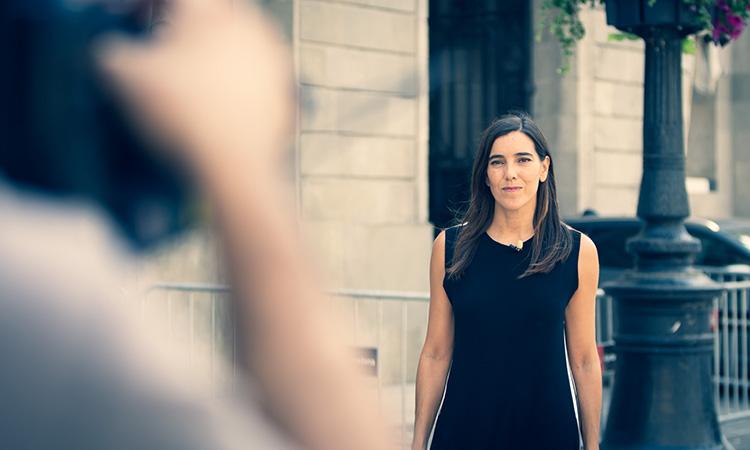 """Eva Arderius: """"Les xarxes socials han eixamplat l'audiència i la visibilitat de betevé"""""""