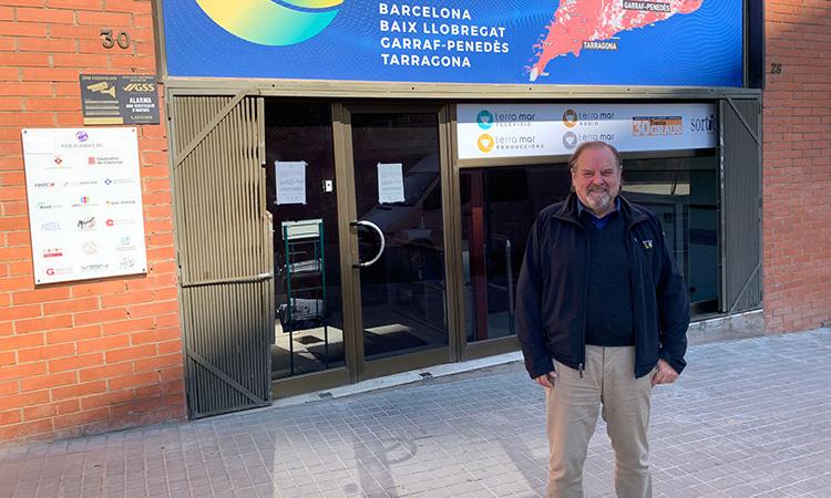 """Frederic Cano: """"ETV Llobregat és una eina d'integració del català per a molts nouvinguts a la comarca"""""""