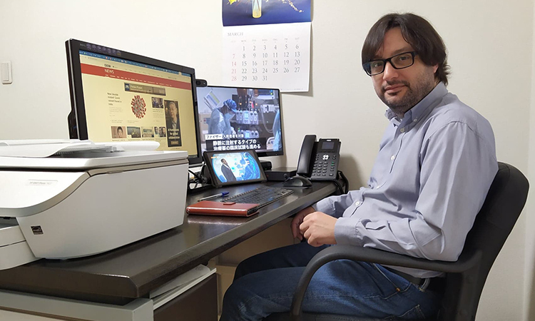 """Josep Solano: """"Vivint a Tòquio, els Jocs Olímpics són una gran oportunitat com a periodista"""""""