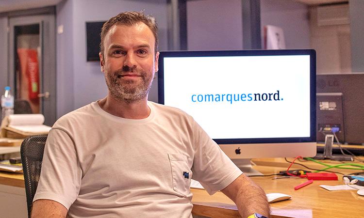 """Juan Antonio Querol: """"A ComarquesNord les subscripcions ens permeten fidelitzar el lector"""""""