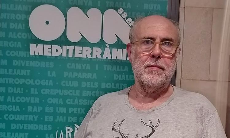 """Pere Estelrich: """"'El Crepuscle encén estels' morirà a Ona Mediterrània"""""""