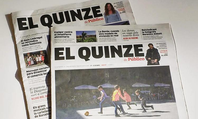 Público torna al paper amb un periòdic quinzenal per a l'àrea metropolitana de BCN
