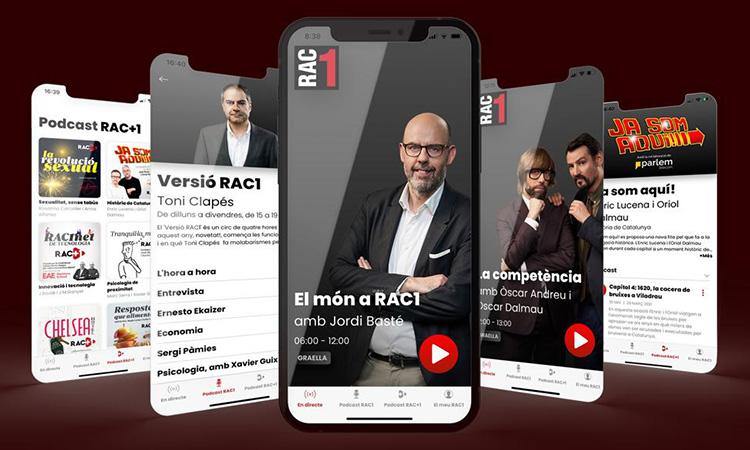 RAC1 estrena nova app
