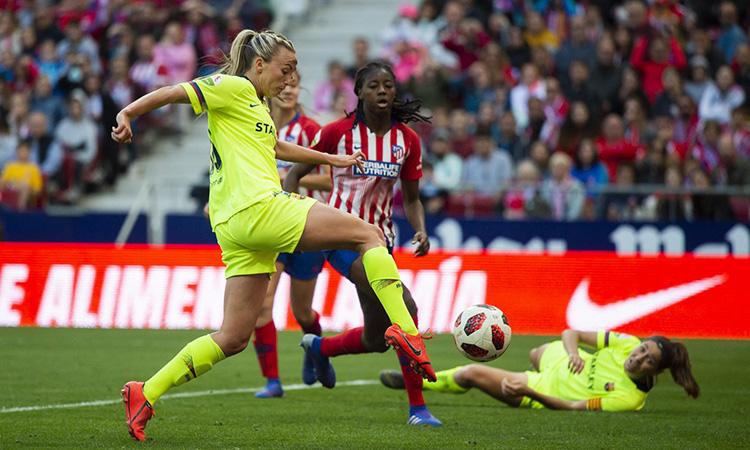 L'Atlètic-Barça bat el rècord d'audiència del futbol femení