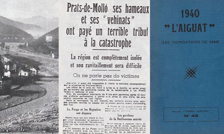 La revista Terra Nostra reedita '1940, l'Aiguat'