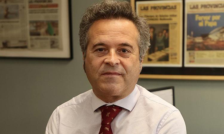 Antonio Pitera, nou director general de Las Provincias