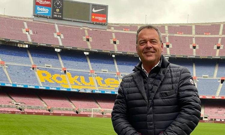 """Lluís Carrasco: """"M'omple d'orgull que se'm recordi per la lona de Laporta al Bernabéu"""""""