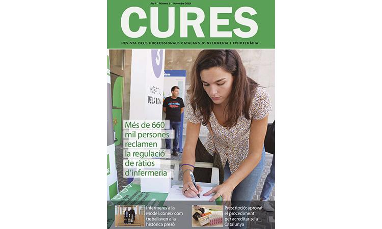 Neix la revista sobre infermeria Cures