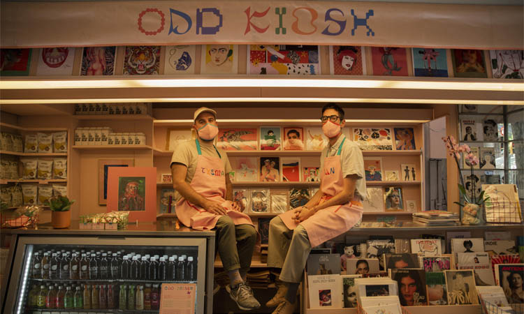 Odd Kiosk, el primer quiosc 'queer' de Barcelona