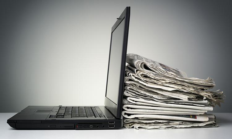 La publicitat dels mitjans en paper cau un 19,6% i la dels digitals un 3,3%