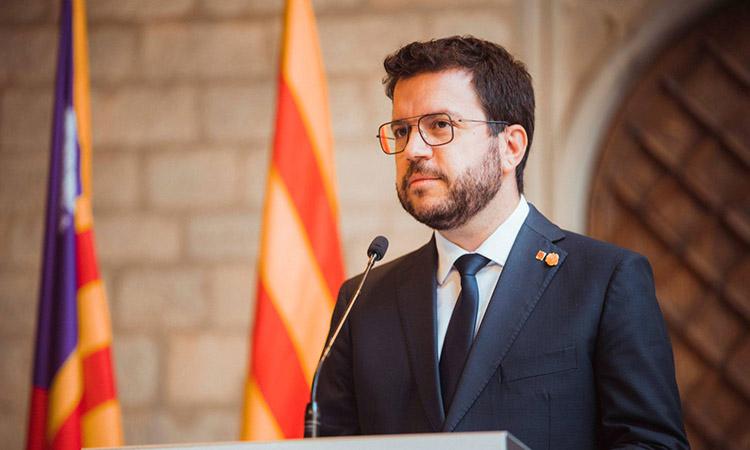 Aragonès exigeix la protecció del català en la llei audiovisual abans de tramitar els pressupostos estatals